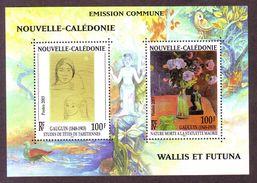 NOUVELLE CALEDONIE - BF 28 - Centenaire De La Mort Du Peintre Paul Gauguin - 2003 - Briefe U. Dokumente