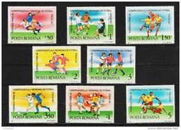1990 - Coupe Du Monde ITALIA 90  Mi No 4594/4601 Et Yv 3884/3891 MNH - Ungebraucht