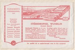 792  BUVARD  PANSEMENTS STERIDROPHIL WUHRLIN - Chemist's
