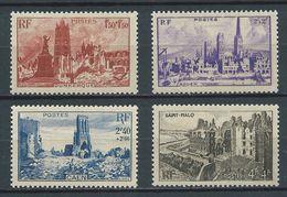 FRANCE 1945 . Série N°s 744 à 747 . Neufs ** (MNH) - France