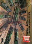 CATALOGUE JOUETS JOUEF- CHEMINS DE FER TRAIN GARE HO- -LOCOMOTIVE- 1978-1979- JOUET - Railway & Tramway