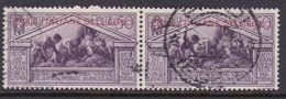 Italy-Colonies And Territories-Aegean General Issue-Rodi S25 1930 Virgil 50c Lilac Used Pair - Italy