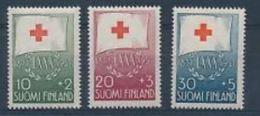Finlande  1957 Nobel Red Cross Croix Rouge - Prix Nobel