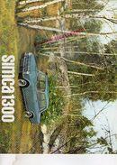 CATALOGUE SIMCA 1300- VOITURE- CACHET GARAGE THARAUD LIMOGES- PHOTOS MARC BICKER - Auto