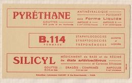 797  BUVARD LABORATOIRE PHARMACEUTIQUE CAMUSET PARIS - Droguerías