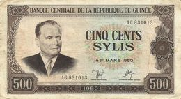 Guinea - 500 Sylis 1980 - Guinea