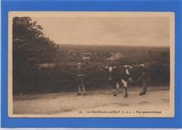 44 LOIRE ATLANTIQUE - LA CHAPELLE LAUNAY Vue Panoramique, Petit Vacher Et Sa Vache (voir Descriptif) - Andere Gemeenten