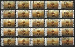 Germania Federale 2014: 25 Pz. N. Mi. 3080 - Usati