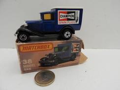 Matchbox :  Model A Van Avec Sa Boite - Matchbox
