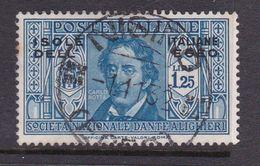Italy-Colonies And Territories-Aegean General Issue-Rodi S51 1932 Dante Alighieri Lire 1.25 Blue Used - Italy