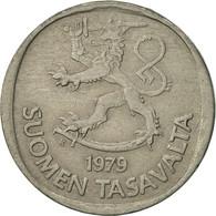 Finlande, Markka, 1979, TTB+, Copper-nickel, KM:49a - Finlande