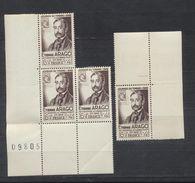 Journée Du Timbre 1948 Et Centenaire De L'institution Du Timbre Poste Par Etienne Arago - Nuovi