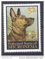 1996 MICRONESIE 431**  Chien Policier - Micronésie