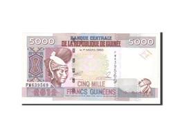 Guinea, 5000 Francs, 2012, KM:41b, Undated, NEUF - Guinea