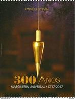 COLOMBIA 2017.07.06 - Souvenir Folder - Masonería Universal 300 Años 1717-2017 - Colombia