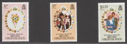 British Virgin Islands 1981 Mi# 408-10** ROYAL WEDDING - Iles Vièrges Britanniques