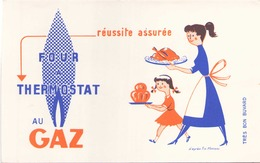 Buvard Gaz 21 Cm X 13,5 Cm - Buvards, Protège-cahiers Illustrés