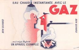 Buvard Gaz ( Aureole )  21 Cm X 13,5 Cm - Buvards, Protège-cahiers Illustrés