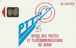 25 Unités Bénin - Télécarte Schlumberger - Bénin