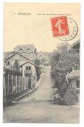 Cpa: 14 HOULGATE (c. Dozulé) Une Rue Derrière Le Grand Hôtel 1907 N° 3 - Houlgate