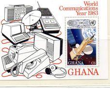 GHANA / Espace Bloc Dentelé MNH Prix Lollini 2.00 Vente 0.80 Euros - Africa