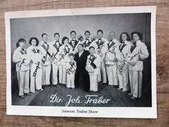 Carte Postale  DIR. JOH. TRABER Internat Traber Show Avec Noms De Chaque Personne SPECTABLE Cabarets Cirque - Cabaret