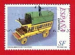 España. Spain. 1999 (o) Franquicia Servicio Filatelico. Furgon Postal - 1931-Heute: 2. Rep. - ... Juan Carlos I