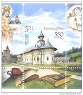 2016. Moldova, 550y Of The Cloister Putna, S/s, Mint/** - Moldavia