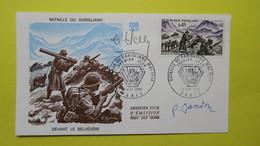 Autographe  Sur  FDC  First Day Cover  Premier Jour   A VOIR   1969 - Autógrafos