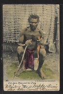 South Africa - Old Zulu Man And His Pipe - Publ.Ravenscroft - Südafrika