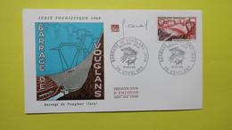 Autographe  Sur  FDC  First Day Cover  Premier Jour   A VOIR   1969 - Autographes