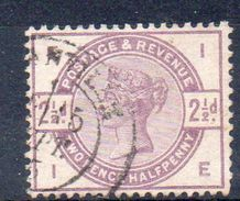 GRANDE BRETAGNE   Timbre De 1883  ( Ref 537 C ) Victoria - Oblitérés
