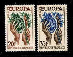 ! ! France - 1957 Europa CEPT (Complete Set) - MNH - Europa-CEPT