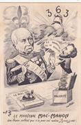 CPA  Maréchal MAC-MAHON Président République Politique Caricature Satirique Illustrateur Jean ROBERT - Robert