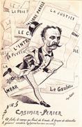 CPA  Casimir PERIER Président République Politique Caricature Satirique Illustrateur Jean ROBERT - Robert