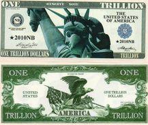 STATI UNITI- BANCONOTA DOLLARS- EMISSIONI DI  FANTASIE-UNC - Estados Unidos