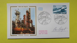Autographe  Sur  FDC  First Day Cover  Premier Jour   A VOIR   1977 - Autographes