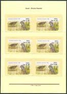 Israel MACHINE LABELS - ATM - 2015, Quail, Mint Condition - Vignettes D'affranchissement (Frama)
