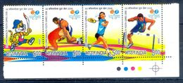 S179-  India 2008 3rd Common Wealth Youth Games. Wrestling. Badminton. Sports. - India