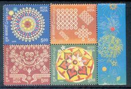 S183- India 2009 Greetings Celebrations Festival. - India
