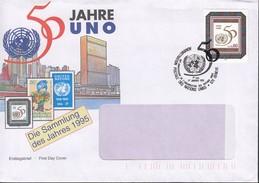 UNO Genf  261 EF, FDC Auf Brief, Stempel: Genf 1.1.1995 - Genf - Büro Der Vereinten Nationen
