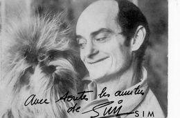 Sim, Autographe. - Autographs