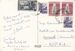 BUON NATALE, 5 Fach Frankierung, Sehr Gute Erhaltung, Gel.n.Mariazell - Unclassified