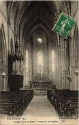 CPA Tours Sur Marne Intérieur De L'Eglise (491725) - France