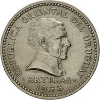 Uruguay, 10 Centesimos, 1953, TTB, Copper-nickel, KM:35 - Uruguay