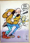 MARGERIN BANDE DESSINEE SKIN HEAD   CARTE MDM 1985 - Autres Illustrateurs