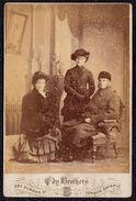 "CANADA 1890 LARGE PHOTO "" EDY BROTHERS "" LONDON ONTARIO  - RICH FAMILY - Photos"