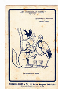 """CPA Les Animaux De """"Gibbs"""" Le Renard Et La Cigogne Dentifrice Dental Dentaire Illustrateur B. RABIER - Rabier, B."""