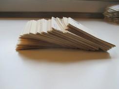 DDR 1986 - 88 Postkarten 215 Stück Sondermarken / Schmalspurbahn Zusammendrucke Viele Saubere Tagesstempel. Bedarf! - Briefmarken