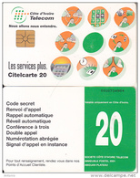IVORY COAST - Telecom Services, Chip GEM1A, Used - Ivory Coast